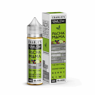 Charlies Chalk Dust - Pachamama - Honeydew / Berry / Kiwi / The Mint Leaf/ ICE -  50ml 0mg Shortfill Liquid
