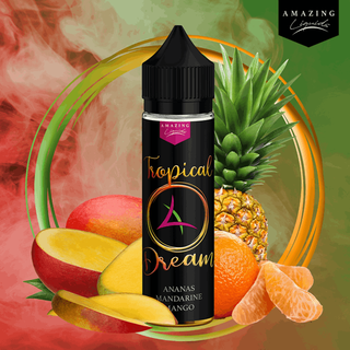 Amazing Liquids - Tropical Dream - 50ml 0mg Shortfill Liquid