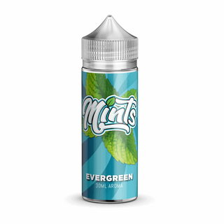 Mints - Evergreen - Longfill Aroma 30ml in120ml-Flasche