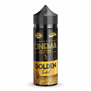 Cloud of Icarus - Cinema Reserve Act 3 The golden Ticket - 100ml 0mg - Shortfill Liquid