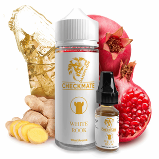 Checkmate Dampflion - White Rook - 10ml Aroma Longfill