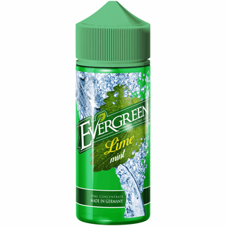 Evergreen - Lime Mint Longfillaroma - 30ml in120ml Flasche