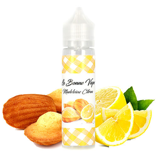 La Bonne Vape - Madeleine Citron - 50ml 0mg Shortfill Liquid