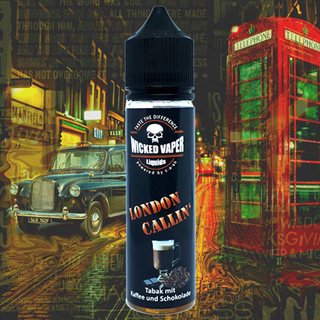 Wicked Vaper Liquids  - London Callin
