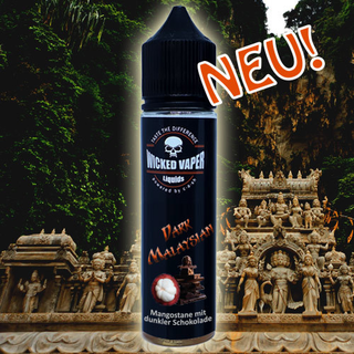 Wicked Vaper Liquids  - Dark Malaysian