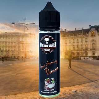 Wicked Vaper Liquids  -Good Morning Vienna